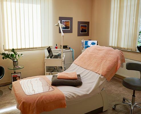 angenehme Behandlungsräume zum entspanen